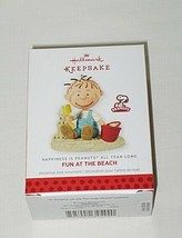 Hallmark Peanuts Happiness is Peanuts All Year Long Fun at The Beach Orn... - $14.80
