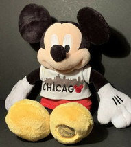 Mickey Mouse Disney Store Chicago T-shirt Plush Authentic Original 14 In... - $11.99