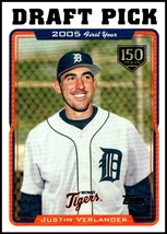 2019 Topps Iconic Card Reprints 150th #ICR-23 Justin Verlander NM-MT 119/150 - $14.99