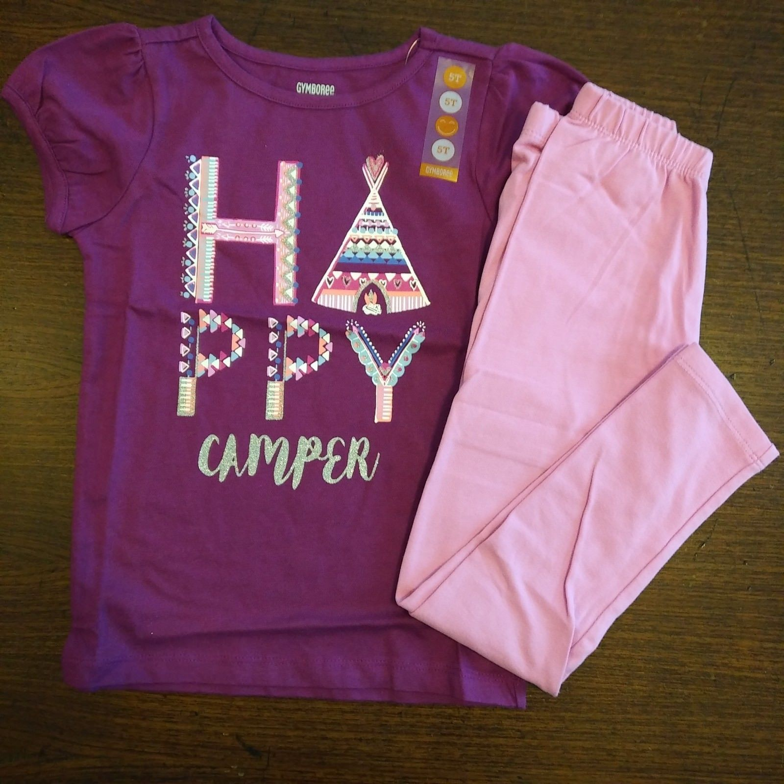 1763974626b0 NWT Gymboree Girls Mix 'n Match Happy Camper and similar items