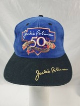 Jackie Robinson 50th Anniversary 1997 Breaking Barriers Suede Ball Cap - $28.50