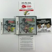 The Legend of Zelda: Spirit Tracks (DS, 2009) CASE/Manual/Inserts ONLY -... - $19.98