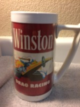 VINTAGE THERMO-SERV WINSTON DRAG RACING  INSULATED BEER MUG--USA--FREE S... - $19.78