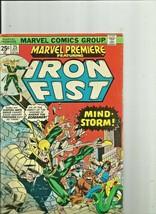 Iron Fist 25# Mind Storm Plus Fantastic Four Annual #22 Marvel Comics - $8.90