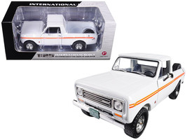 1979 International Scout Terra Pickup Truck White / Orange Spear 1/25 Di... - $68.62