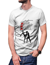 Mma figther t shirt white for men thumb200