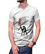 MMA Figther T-shirt White For Men - $20.99