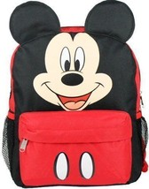 """Disney Mickey Ears Face Square 12"""" inches BP - Licensed Red & Black - $21.28"""