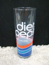"""Taller 6.75"""" One Calorie Diet Pepsi Drinking Glass/Tumbler, Collectible ... - $5.93"""