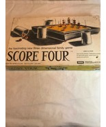 Vintage 1968 Score Four 3 Dimensional Strategy Family Game by Lakeside - $13.68