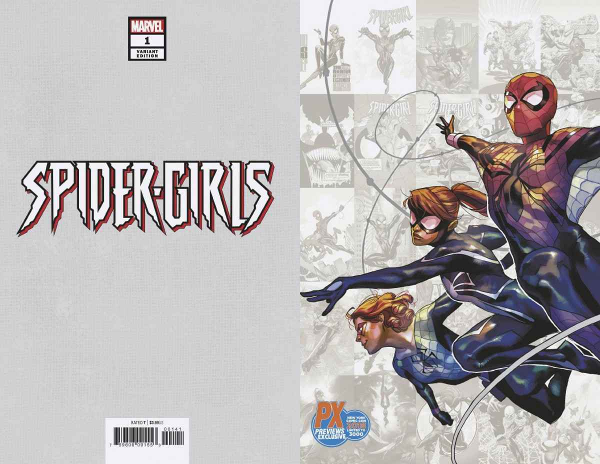 Spider-Girls #1 NM NYCC Variant