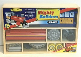"Melissa & Doug ""Mighty Builders"" Train - Wooden 553: Brand NEW and Very Rare - $21.04"