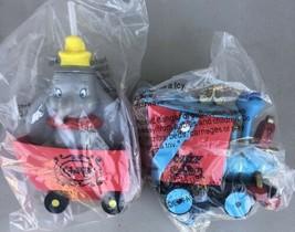 Disney Parks Casey Jr Train Disney Popcorn Bucket & Dumbo Sipper Cup Set... - $34.95