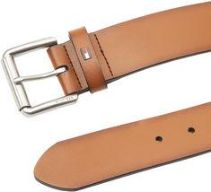 Tommy Hilfiger Men's Premium 38MM Classic Raised Logo Leather Belt image 3