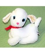 """Vintage J SWEDLIN LAMB Gund Wooly Plush Stuffed Animal 10"""" 1971 Collecti... - $46.74"""