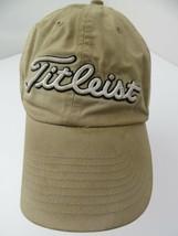 Titleist Golf Beige Fitted L Adult Baseball Ball Cap Hat - $12.86