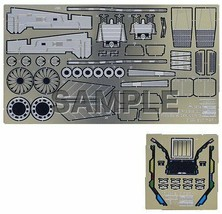 Hasegawa Macross etching parts for plus YF-19 1/48 scale plastic model F/S NEW - $31.05