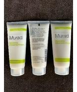 3x - Murad Renewing Cleansing Cream Resurgence 1.5 Oz./45 mL - NEW - $14.84