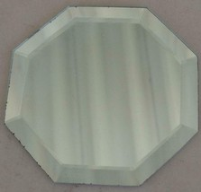 Fabulous Extra Small Beveled Edge Octagon Shaped Mirror - VGC - CUTE MIRROR - $6.92