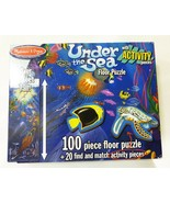 Melissa & Doug puzzle under the sea 100 piece floor puzzle educational k... - $26.63