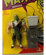 Toy Island 1997 The Mask Animated Series Heads Up Action Figure [P196] - $19.79