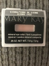 Mary Kay Sienna Mineral Eye Color .05 Oz. New #013065 In Plastic Case - $4.95