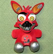 "Five Nights At Freddys Funko 9"" Stuffed Animal Nightmare Foxy Red 2016 Fnaf Toy - $17.82"