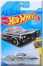 Hot Wheels - '64 Impala: HW Art Cars #5/10 - #326/365 (2018) *White Edit... - $3.00