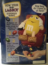 Collectible M&M's Yellow Lazy Boy Chair Recliner Candy Dispenser 1999 Mars Gift - $25.00