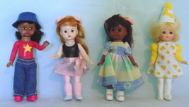Four Alexander Doll Company Happy Meal Toy Dolls - $11.99