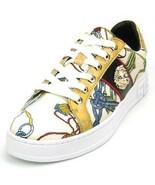 Fiesso by Aurelio Garcia Fashion Low Cut Sneakers Medusa Beige FI 2382 - $149.99