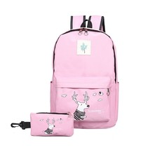2Pcs Kids Girls Backpack for School Book Shoulder Bags Set for Teens Girls Boys - $26.99