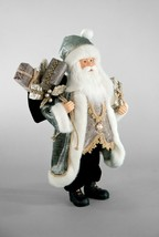 """katherine's collection Santa Claus Pewter silver holiday  Christmas  18"""" - $110.00"""