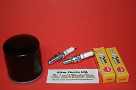 POLARIS 02-06  700 Sportsman Tune Up Kit NGK Spark Plug & Oil Filter - $18.45
