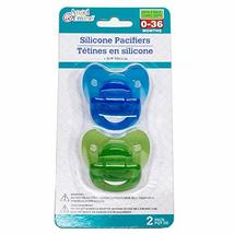 Silicone Pacifiers 2 Pack - $0.98
