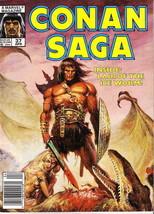 Conan Saga #37 (Newsstand) VG; Marvel | low grade comic - save on shippi... - $1.50
