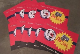 Fire Safety Allstate Insurance Coloring Book 10 Pack English & Spanish B... - $6.92