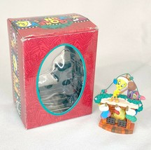 Looney Toons Tweety Bird on top of Fireplace Christmas Ornament  - $11.73