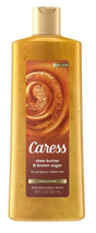 Caress Exfoliating Body Wash, Shea Butter & Brown Sugar, 18 Fluid Ounces - $7.95