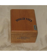 Dolce Vita Exotic Robusto Gordo Empty Cigar Box - $12.99