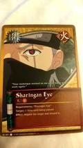 Naruto Collectible Card Game: Sharingan Eye - $5.99