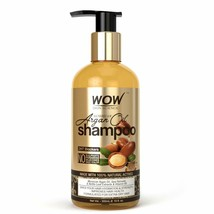 WOW Skin Science Moroccan Argan Oil Shampoo (with DHT Blocker) - No Sulp... - $17.32
