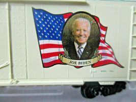 Micro-Trains # 07400146 Joe Biden Presidential 40' Boxcar Road # 2021. N-Scale image 5