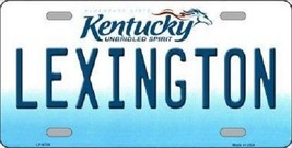 NCAA Lexington License Plate Team State Background Metal Tag U.S.A Kentucky UK - $11.63