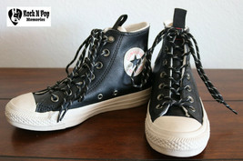 Converse CTAS Desert Storm Sneakers Leather Black 162386C Sizes 5.5 -  7... - $72.86 CAD