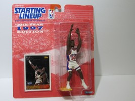 1997 NBA Patrick Ewing Starting Lineup with Collectors Card - £7.52 GBP