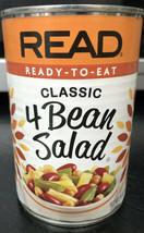 Read Classic 4 Bean Salad Ready to Eat Vegan & Preservative Free 16 oz - $7.91