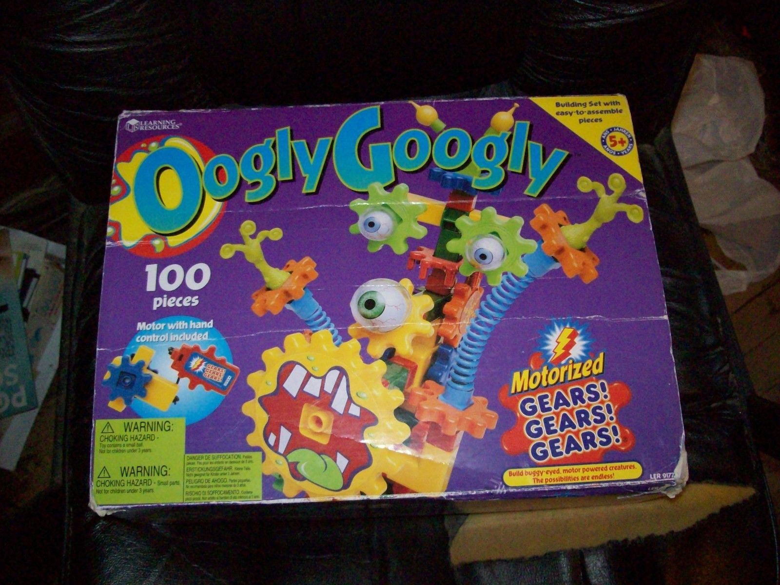 Oogly Googly Motorized Gears! Building Set