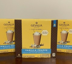 GEVALIA Cafe at Home 24 Packets VANILLA FRAPPE Coffee Drink Mix Starbuck... - $37.61