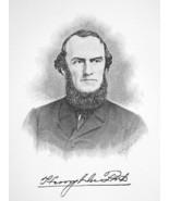 HENRY DU PONT Manufacturer & Industrialist - 1895 Portrait Antique Print - $9.45